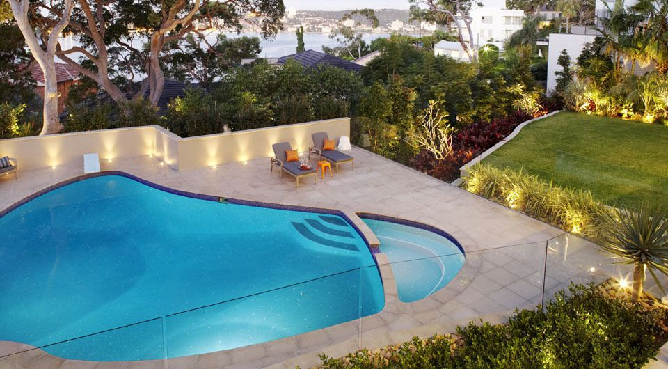 Tropical landscape design for clients in Balgowlah Heights, Northern Beaches in Sydney