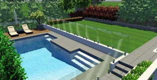 Landscape and Swimming Pool Design