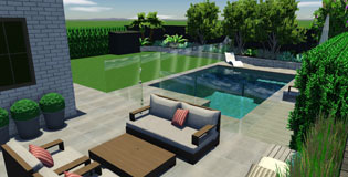 Tropical Swimming Pool Design