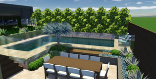 Swimming Pool & Entertaining Area