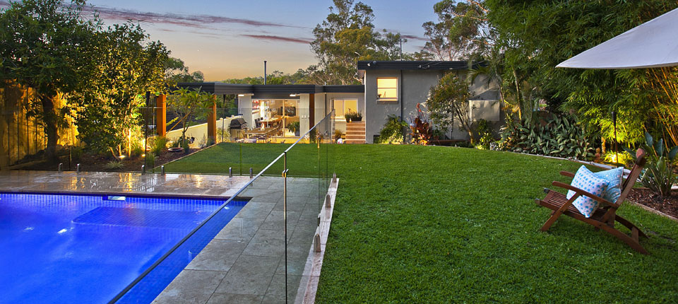 Pool renovation lane cove backyard pool renovation for Pool design sydney