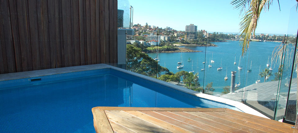 Pool renovation double bay small pool renovation for Pool design sydney