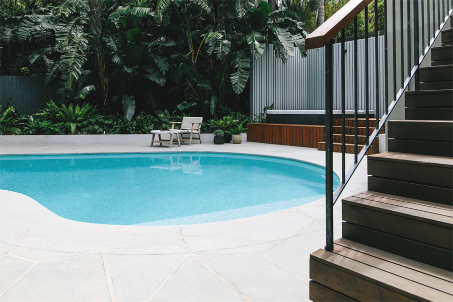Pool renovation northern beaches kidney shaped pool for Pool design sydney
