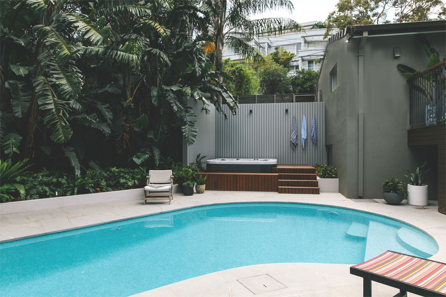 Pool Renovation Northern Beaches Kidney Shaped Pool