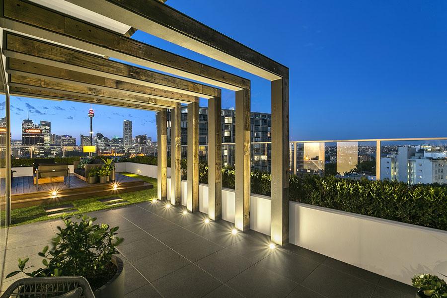 Rooftop Gardens Sydney Penthouse Rooftop Design Sydney Nsw