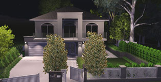 Hampton Style Landscaping